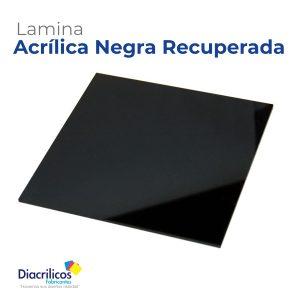 Lamina Reciclada Negra