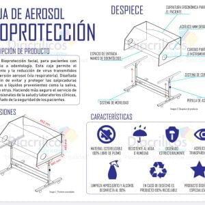 Caja Aerosol De Bioprotección Para Odontología