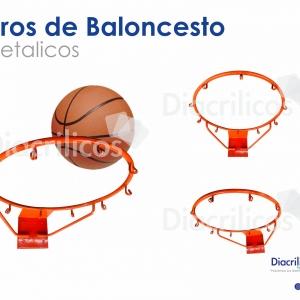 Aro De Baloncesto Metálico