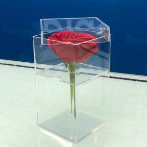 Caja para 1 Rosa