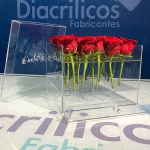 Caja para 9 rosas