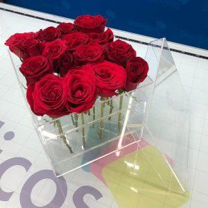 Caja para 12 rosas