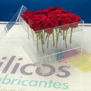 Caja para 16 rosas