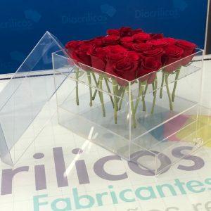 Caja para 20 rosas