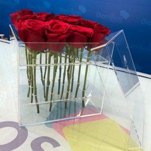 Caja para 6 rosas